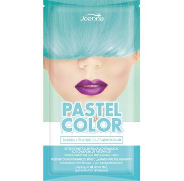 Joanna Pastel Color szampon koloryzujący w saszetce Turkus 35 g