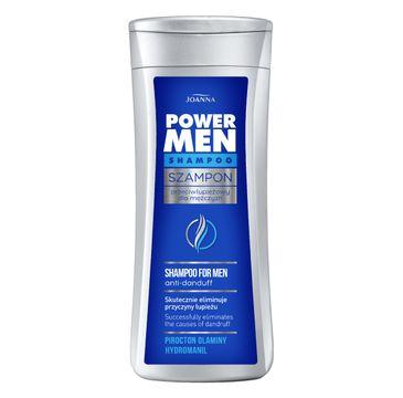 Joanna Power Hair szampon przeciwłupieżowy do włosów dla mężczyzn 200 ml