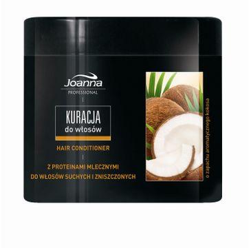Joanna Professional maska do włosów suchych i zniszczonych kokosowa 500 ml
