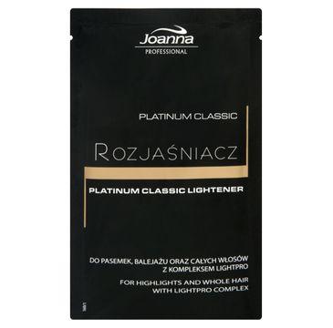 Joanna Professional Platinum Classic Lightener rozjaśniacz do włosów 40g