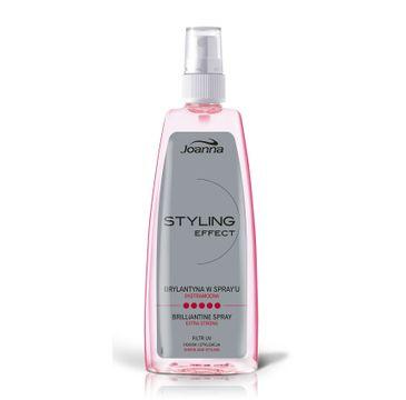Joanna Styling Effect brylantyna do włosów w spray'u 150 ml
