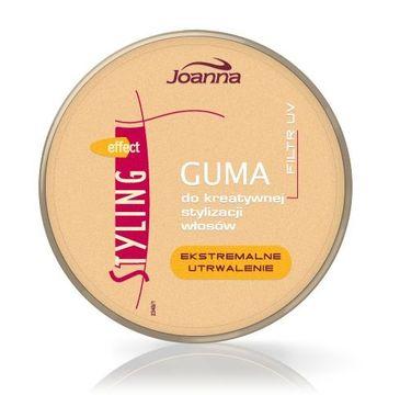 Joanna Styling Effect guma do kreatywnej stylizacji włosów złota 100 g