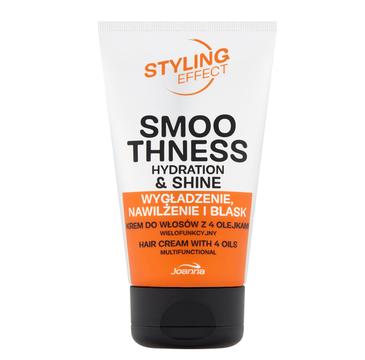 Joanna Styling Effect wielofunkcyjny krem do włosów z 4 olejkami (125 g)