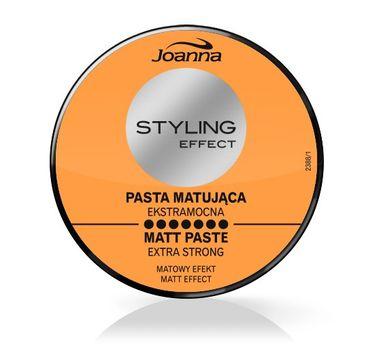 Joanna Styling Effect pasta matująca do każdego typu włosów extra mocna 80 g