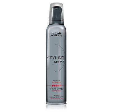 Joanna Styling Effect pianka do każdego typu włosów modelująca extra mocna new 150 ml