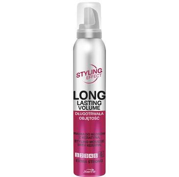 Joanna – Styling Effect Pianka do włosów długotrwała objętość extra strong (250 ml)
