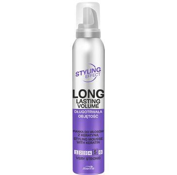 Joanna – Styling Effect Pianka do włosów Długotrwała Objętość very strong (250 ml)