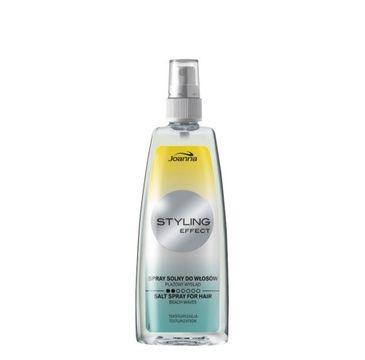 Joanna Styling Effect spray solny do każdego typu włosów delikatne fale 150 ml