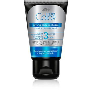 Joanna Ultra Color odżywka do włosów koloryzująca - chłodne odcienie blond 100 g