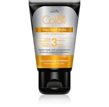 Joanna Ultra Color odżywka do włosów koloryzująca - ciepłe odcienie blond 100 g