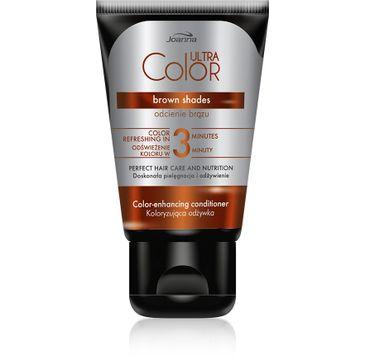 Joanna Ultra Color odżywka do włosów koloryzująca - odcienie brązu 100 g