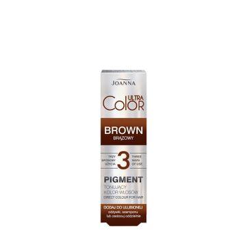 Joanna – Ultra Color Pigment tonujący kolor włosów brązów (100 ml)