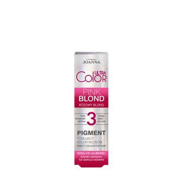 Joanna – Ultra Color Pigment tonujący kolor włosów różowy blond (100 ml)