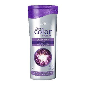 Joanna Ultra Color System odżywka do włosów blond rozjaśnianych i siwych 200 ml