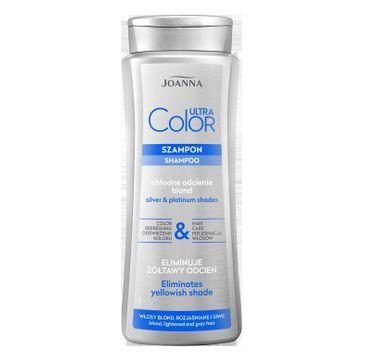 Joanna Ultra Color System szampon do włosów blond rozjaśnianych i siwych 400 ml