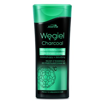 Joanna Węgiel szampon micelarny z odżywką detoksykujący do włosów przetłuszczających się 200 ml