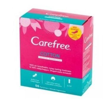 Carefree – Cotton wkładki higieniczne 56 (4+1)