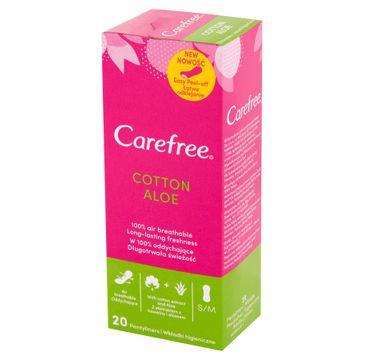 Carefree – Cotton Aloe wkładki higieniczne 20 szt. (1 op.)