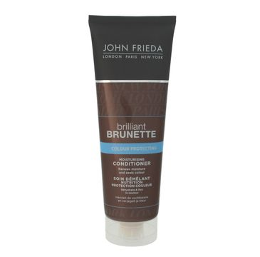 John Frieda Brilliant Brunette odżywka do włosów ciemnych chroniąca kolor 250 ml