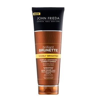 John Frieda Brilliant Brunette Visibly Brighter Conditioner For All Brunette Shades odżywka nabłyszczająca do brązowych włosów 250ml