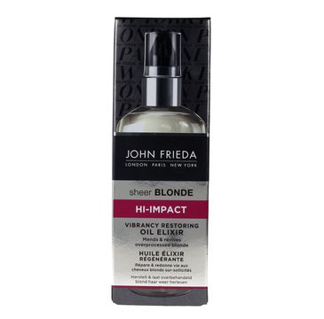 John Frieda eliksir-olejek do włosów blond 100 ml new