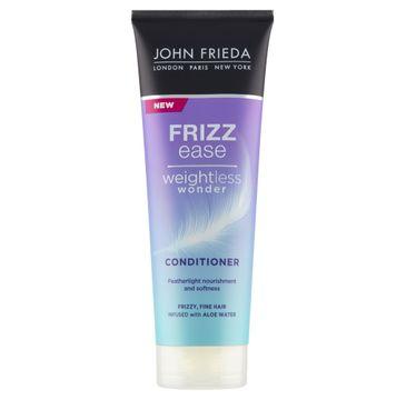 John Frieda Frizz-Ease Weightless Wonder odżywka nadająca gładkość cienkim włosom (250 ml)