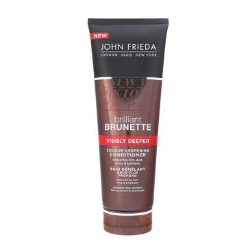 John Frieda odżywka do włosów ciemnych wydobywa głębię koloru 250 ml