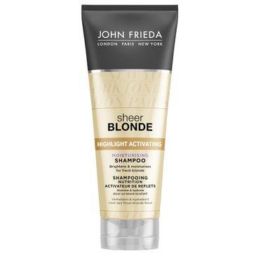 John Frieda Sheer Blonde Moisturising Shampoo nawilżający szampon do włosów blond 250ml