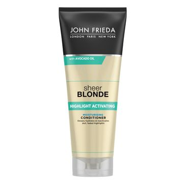 John Frieda Sheer Blonde Moisturizing Conditioner nawilżająca odżywka do włosów blond 250ml
