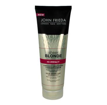 John Frieda Sheer Blonde odżywka do platynowego odcienia 250 ml