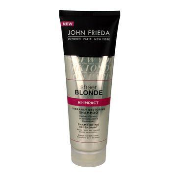 John Frieda Sheer Blonde szampon odświeżający kolor włosów blond 250 ml new