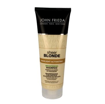 John Frieda Sheer Blonde Szampon rozświetlający do włosów blond Highlight Activating 250 ml new