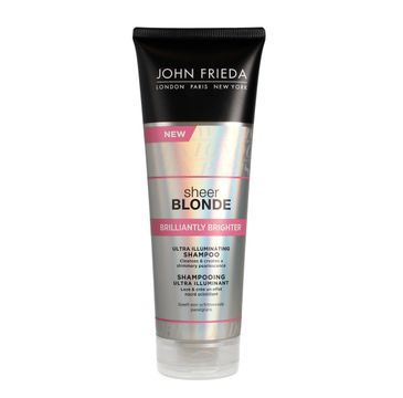 John Frieda Sheer Blonde zzampon nadający połysk do włosów blond Brilliantly Brighter 250 ml