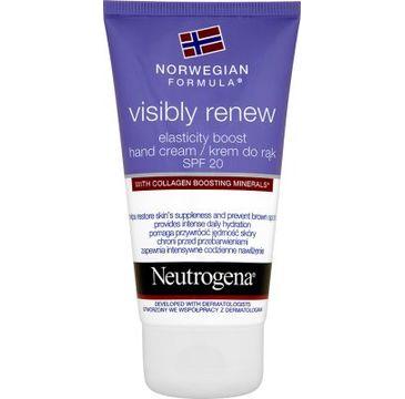 Neutrogena – Formuła Norweska Visibly Renew Elasticity Boost krem do rąk (75 ml)