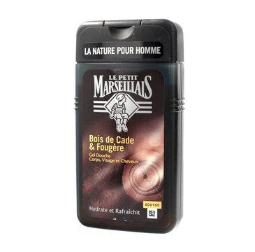 Le Petit Marseillais – Żel pod prysznic 3w1 dla mężczyzn Drzewo Cade (250 ml)