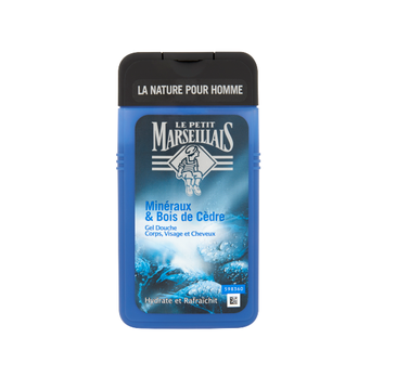 Le Petit Marseillais – Żel pod prysznic dla mężczyzn 3w1 Drzewo Cedrowe i Minerały (250 ml)