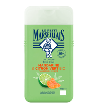 Le Petit Marseillais – Żel pod prysznic Mandarynka&Limonka (250 ml)
