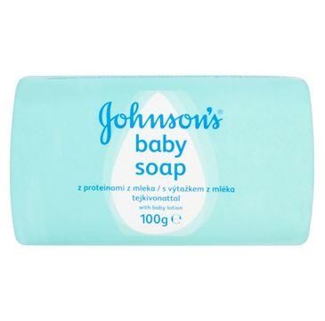 Johnson's Baby mydło z proteinami z mleka 100 g