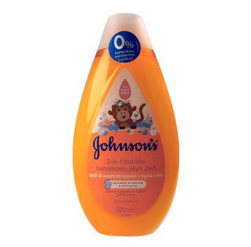 Johnson's Baby Bubble Bąbelkowy Płyn do kąpieli 2w1 dla dzieci 500 ml