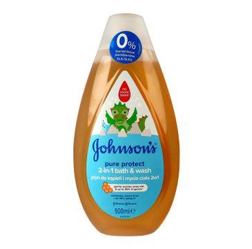 Johnson's Baby Pure Protect Płyn do kąpieli 2in1 dla dzieci 500 ml