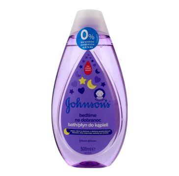 Johnson's Baby Bedtime Płyn do kąpieli dla dzieci na dobranoc 500 ml