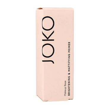 Joko Brightening & Mattifying baza pod makijaż rozjaśniająco-matująca (20 ml)