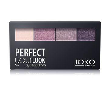 Joko Perfect Your Look cienie do powiek quattro nr 401 perłowe (7 g)