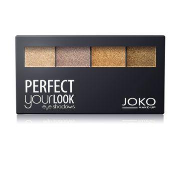 Joko Perfect Your Look cienie do powiek quattro nr 402 perłowe (7 g)