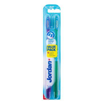 Jordan  Duo Target Teeth & Gums szczoteczka do zębów soft 1 op - 2 szt.