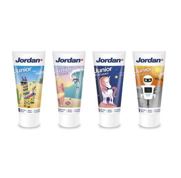 Jordan Junior pasta do zębów dla dzieci 6-12 lat mix (50 ml)