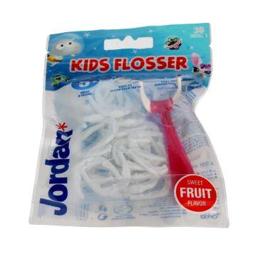 Jordan Kids Flosser Nici dentystyczne dla dzieci 5+ 1 op. - 36 szt.