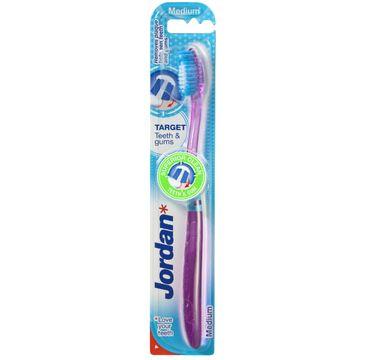 Jordan Target Teeth & Gums szczoteczka do zębów medium 1 szt.