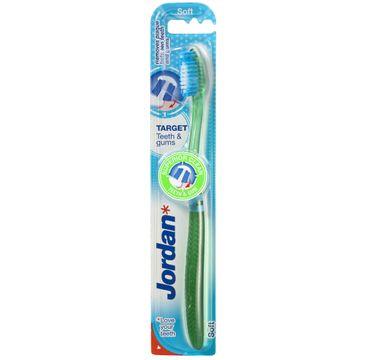 Jordan Target Teeth & Gums szczoteczka do zębów miękka 1 szt.
