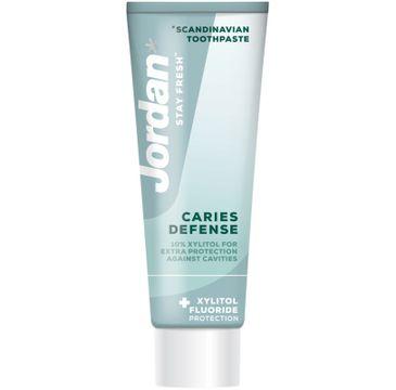 Jordan Pasta do zębów Stay Fresh Caries Defense (75 ml)